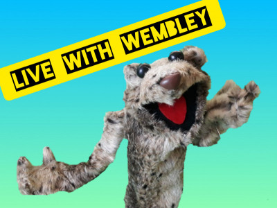 Help Wembley to launch his show!