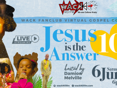 WACK Fan Club Virtual Gospel Concert