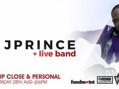 Up, Close...and Personal: J Prince & Live Band