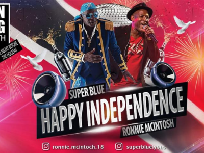 WACK Independence Show: SuperBlue & Ronnie McIntosh