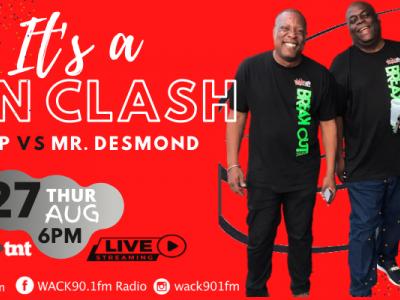 WACK presents it's Pan Clash: KMP vs Mr Desmond
