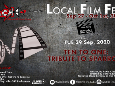 WACK Local Film Fest - Ten to One: Tribute to Sparrow