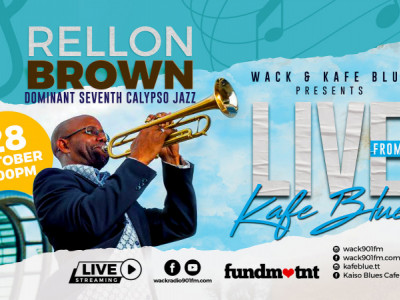 Live from Kafé Blue with Rellon Brown