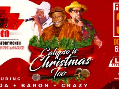 Tuco Calypso History Month: Calypso is Christmas Too ft. Ninja Baron & Crazy