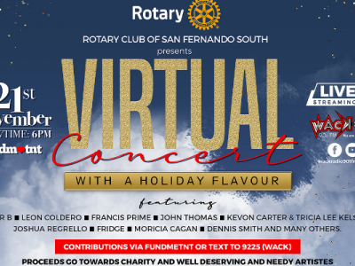 Rotary Club - San Fernando South - Virtual Concert with a Holiday Flavour