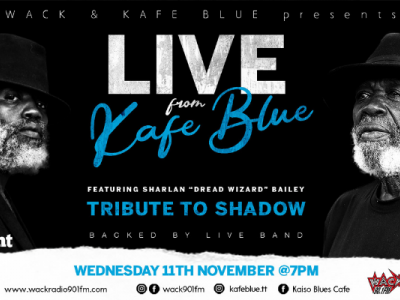 Live from Kafé Blue: Tribute to Shadow with Sharlan Bailey & Live Band