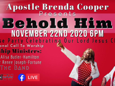 Apostle Brenda Cooper - Behold Him - Praise Party