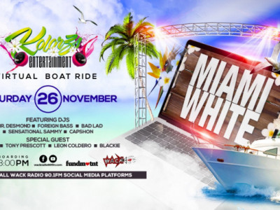 Miami White with Kolorz - The Virtual Boat Ride