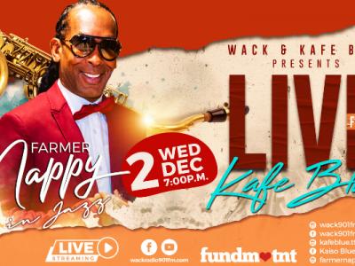 Live from Kafé Blue: Farmer Nappy in Jazz