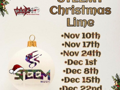 STEEM-Y Christmas Lime -  House Parang Style