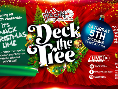 Deck The Tree - WACK's Christmas Lime
