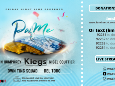 WACK's Friday Night Lime presents  PaiMe