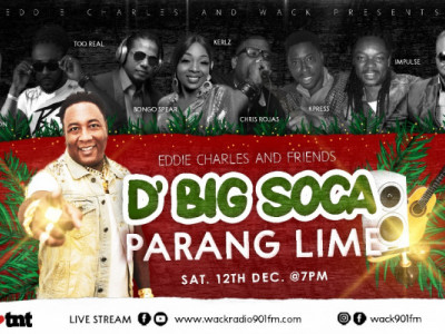 Eddie & Friends present D' Big Soca Parang Lime