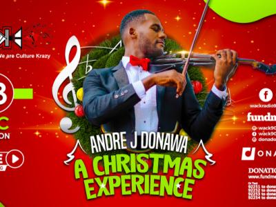 WACK presents Andre Donawa - A Christmas Experience