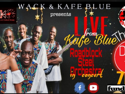 Live from Kafé Blue:  Roadblock Steel Orchestra in Concert
