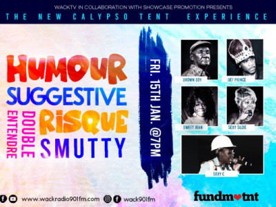 Showcase Production  presents The New Calypso Tent Experience