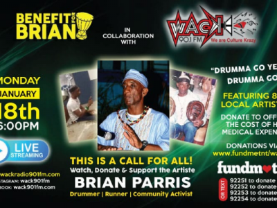 Benefit Brian - Fundraiser for Drummer Brian Parris