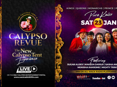 Calypso Revue - New Calypso Tent Experience - Pure Kaiso