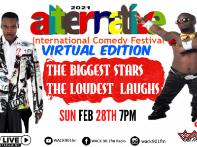 CANCELLED - Alternative International Comedy Festival  2021 - The Virtual Edition