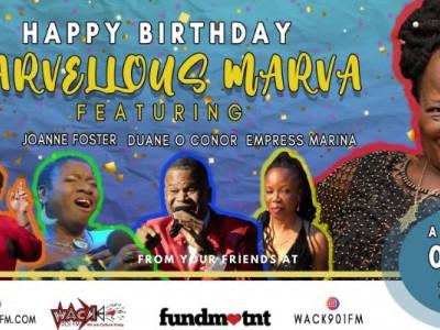 Happy Birthday Marvellous Marva