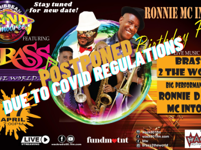 Caribbean Band Jamboree presents Brass 2 The World ft Ronnie Mc Intosh