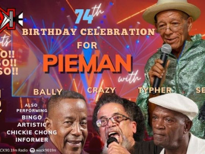 Calypsonian Pieman's 74th Birthday Celebration