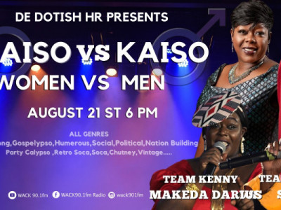 De Dotish Hr presents WOMEN vs Men - Sweet Voice Edition 4