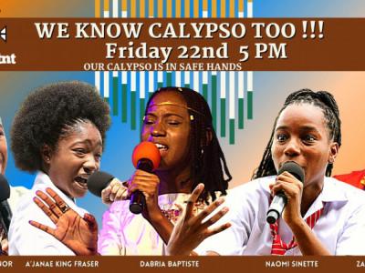 We Know Calypso Too - Our Calypso is Safe Hands