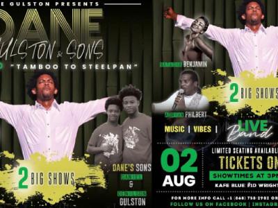 "DANE GULSTON & SONS ""Tamboo to Steelpan Concert"""