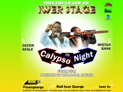 Iwer Stage (Devon Seales and Mistah Shak)