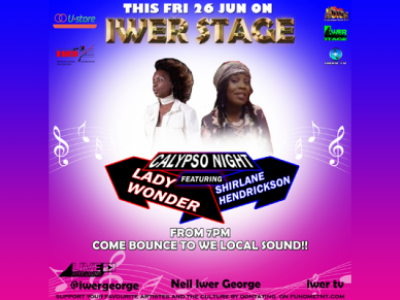 Iwer Stage (Lady Wonder and Shirlane Hendrickson)