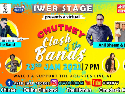 Iwer Stage (chutney clash of the bands)