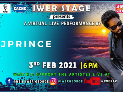 Iwer Stage Presents J Prince A Virtual Live Performance