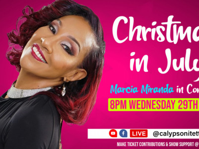 """iEnt Live Streaming"" Christmas In July Series featuring Marcia Miranda"
