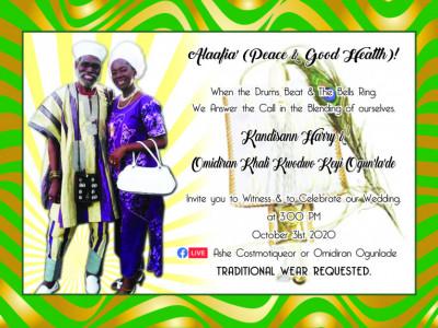 Wedding/ Kandisann Harry & Omidiran Khali Kwodwo Keyi Ogunlade