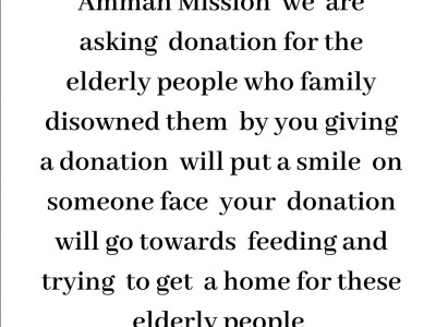 Help for the  old age