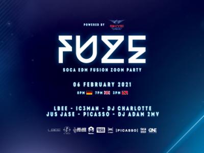 FUZE   -    SOCA & EDM Fusion Zoom Event