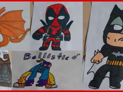 Art Supplies for a Child