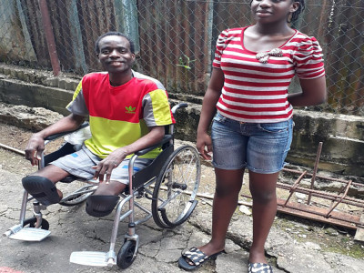 Help Me Stand: Support Aldwyn to Purchase Two Prosthetic Legs