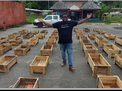 Join us to Feed Families1 Grow boxe at a time