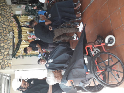 Professional barbering school youths sponsorship program where youths becomes financial independence