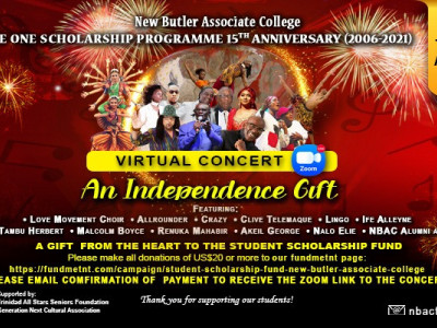 An Independence Gift: NBAC Virtual Benefit Concert