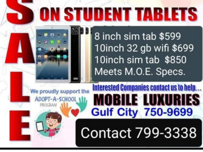 Help my son get a device for online schooling